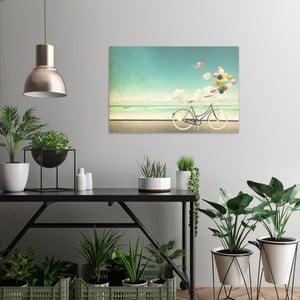 Obraz na plátně OrangeWallz Bike, 60 x 90 cm