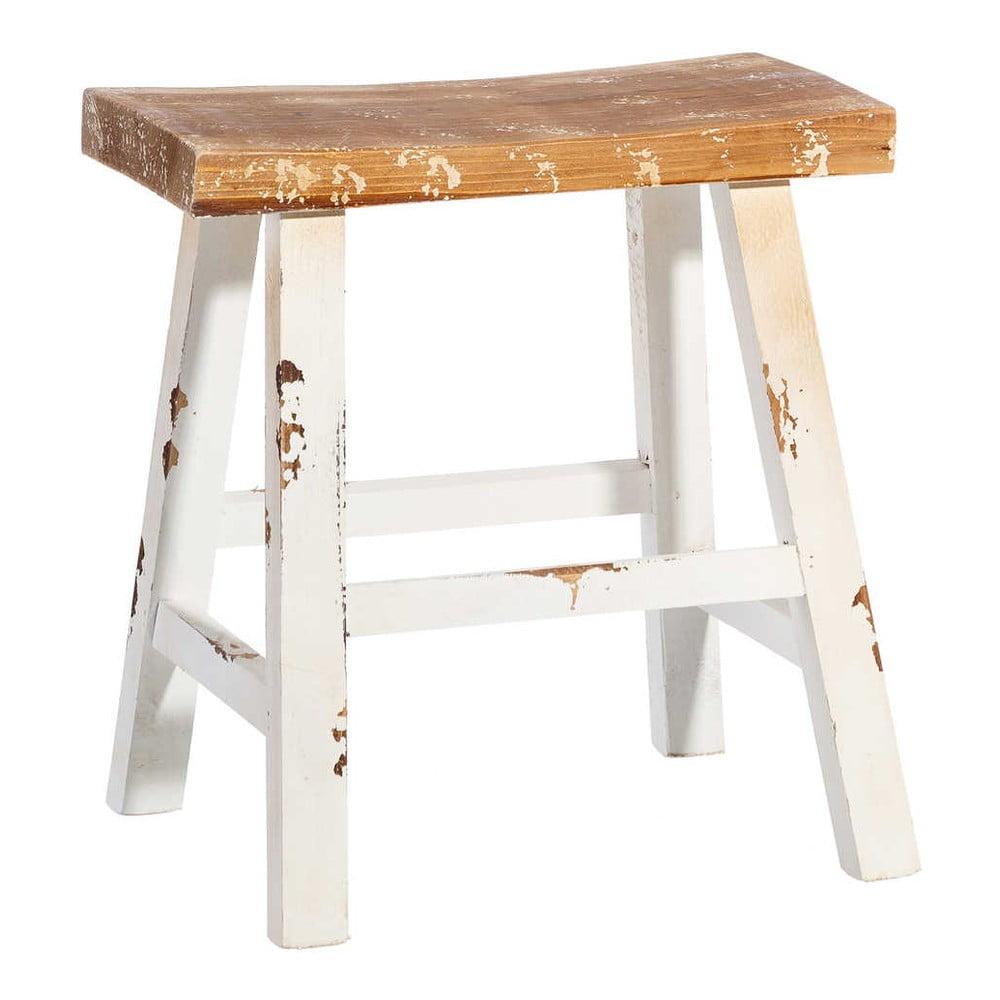 Stolička z jedlového dřeva Tropicho