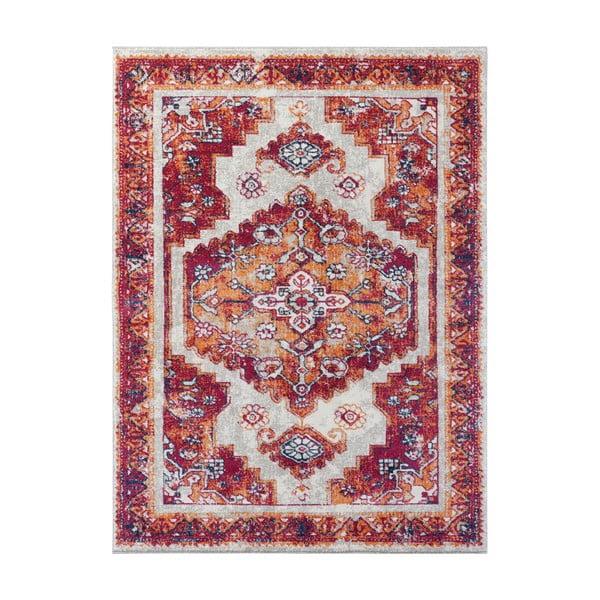 Czerwony dywan Nouristan Daber, 160x230 cm