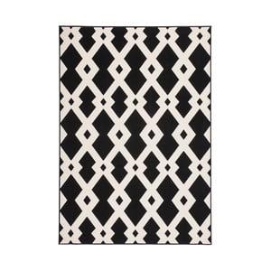 Černo-bílý koberec Kayoom Stella 100 Black, 200x290cm