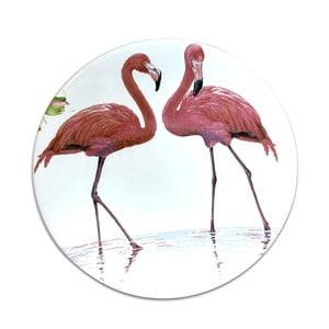 Farfurie din ceramică Flamingo, ⌀ 25 cm