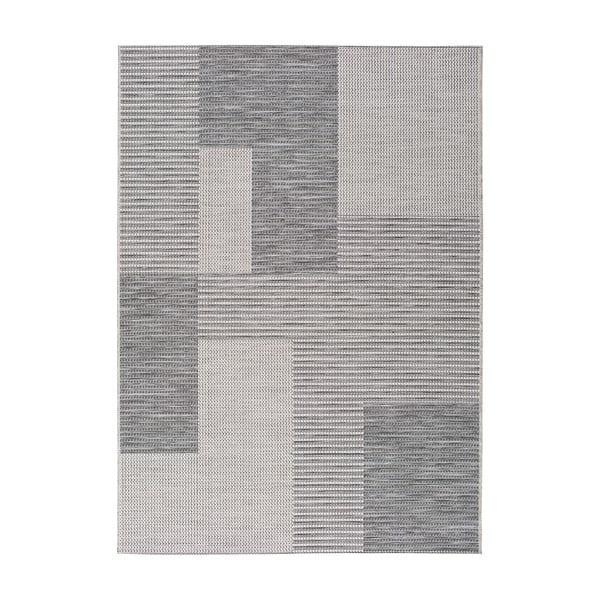 Covor pentru exterior Universal Cork Squares, 155 x 230 cm, gri