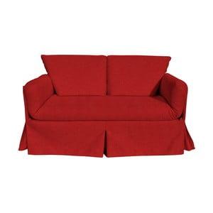 Canapea extensibilă cu 3 locuri 13Casa Roma Matrix, roșu