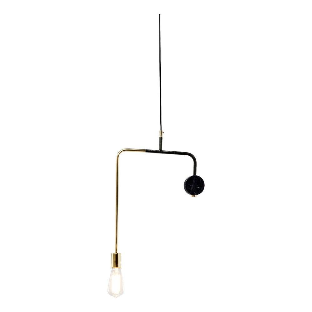 Černé stropní svítidlo Kare Design Down