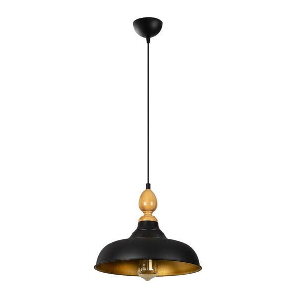 Agatha fekete fém függőlámpa - Opviq lights