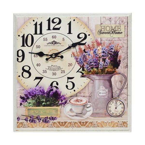 Nástěnné hodiny Lavender Dream