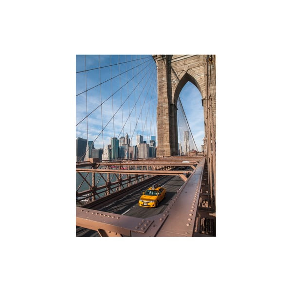 Obraz Brooklyn Bridge, 50x65 cm