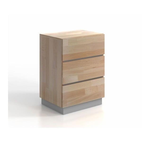 Komoda z bukového a borovicového dřeva SKANDICA Finn 3S