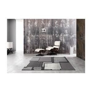 Šedý koberec UNIVERSAL Cullio, 190x280cm