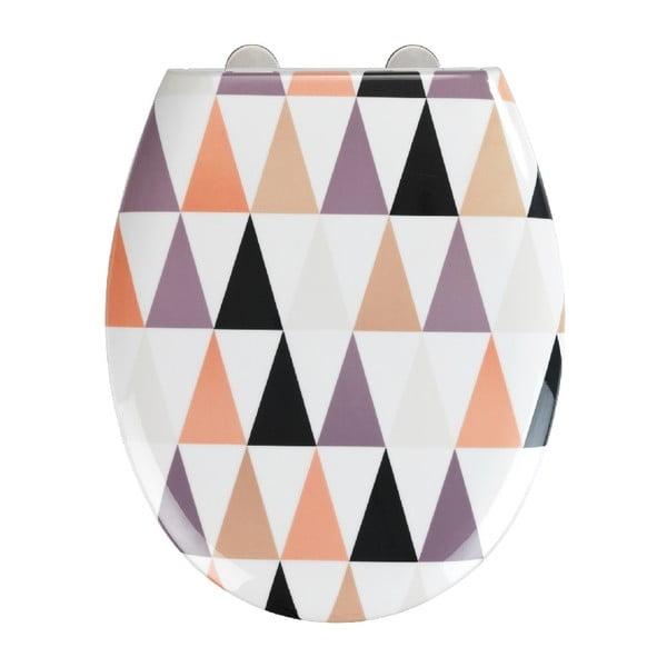 Easy Pyramide WC-ülőke, 44,5 x 37 cm - Wenko