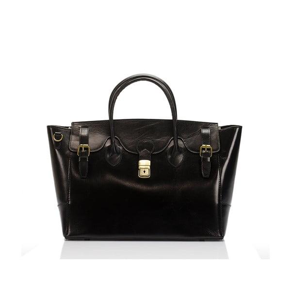 Czarna torebka skórzana Lisa Minardi Pomona