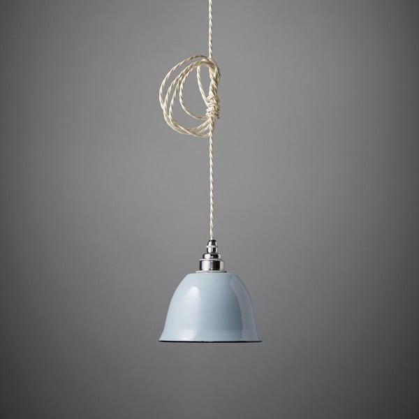 Závěsné světlo Miniature Bell Grey