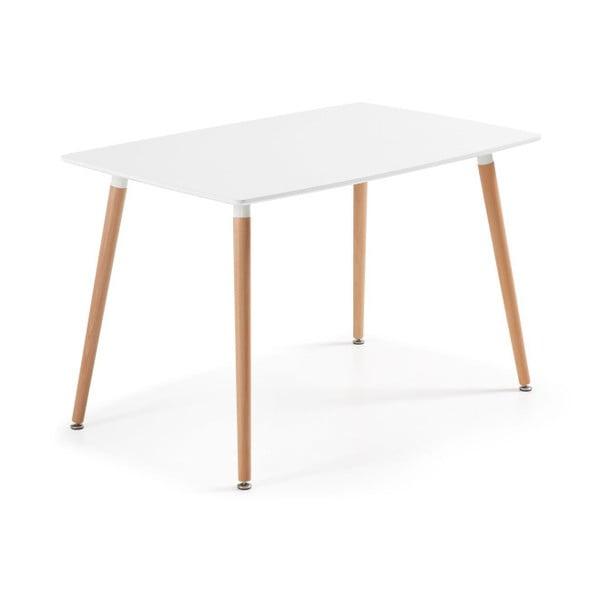 Jídelní stůl z bukového dřeva La Forma Daw, 75x120cm
