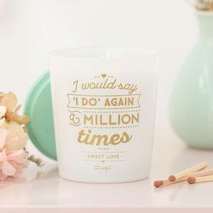 Svíčka s vůní sladkostí Mr. Wonderful I do, 15hodinhoření