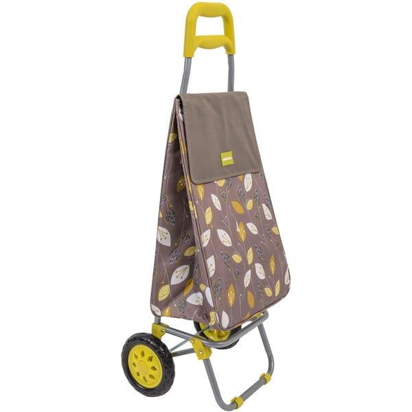 Nákupný košík na kolieskach Sabichi Lemongrass