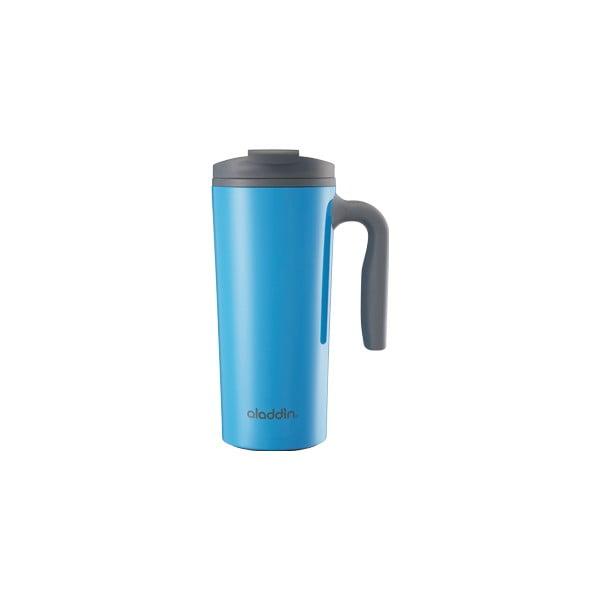 Cestovní termohrnek Aveo 0.47 l, modrá nerez
