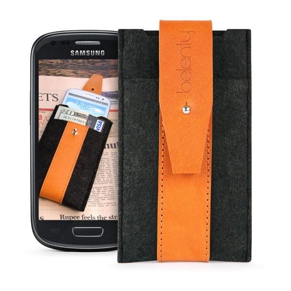 Pouzdro na Samsung Galaxy S3 mini Cognac
