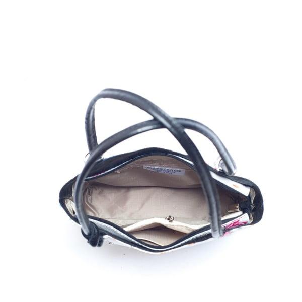 Kožená kabelka Mangotti 902, černá