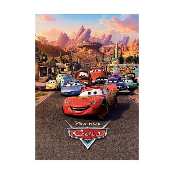 Velkoformátová tapeta Disney Cars, 158x232 cm