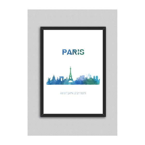 Obraz North Carolina Scandinavian Home Decors Paris, 33 x 43 cm