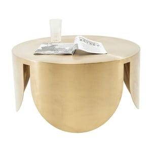 Măsuță  Kare Design New Wave, ⌀ 80 cm, auriu