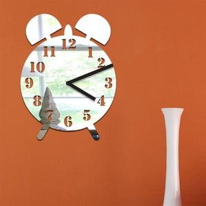 Zrcadlové hodiny Clock