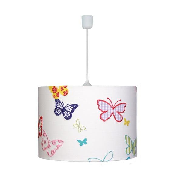 Závěsné světlo White Butterflies