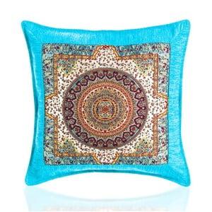 Povlak na polštář Seramik Turquoise, 43x43 cm