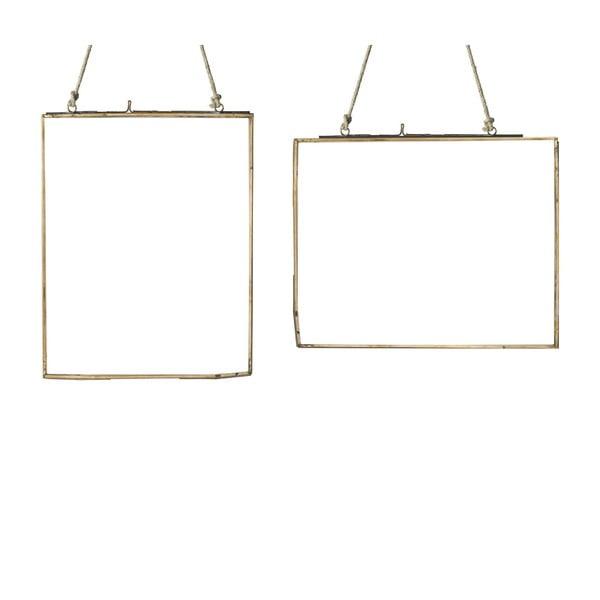 Sada 2 závěsných rámečků Parlane, 20.5x26 cm