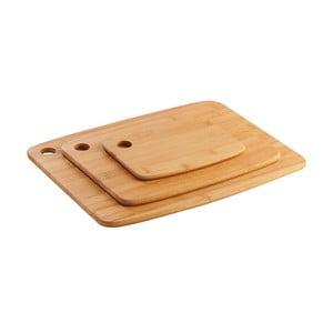 Sada 3 krájecích prkének z bambusu Mason Cash Essentials