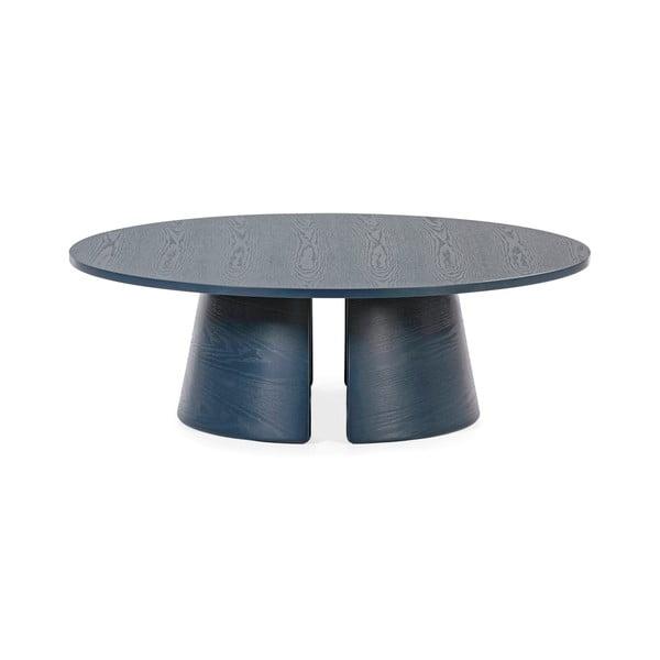 Niebieski stolik Teulat Cep, ø 110 cm