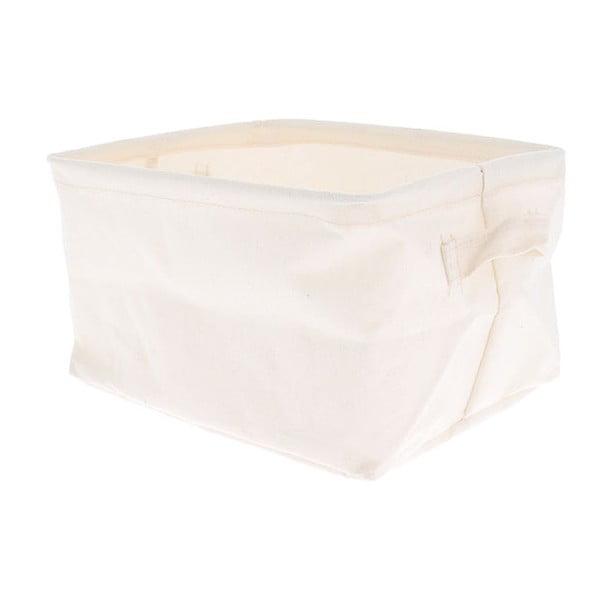Coș depozitare Compactor Cream, 25 x 15 x 20 cm