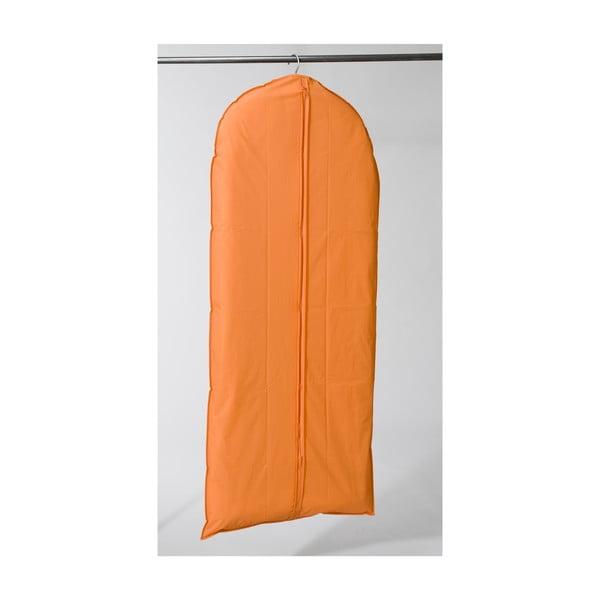 Textilní závěsný obal na šaty Garment Orange, 137 cm