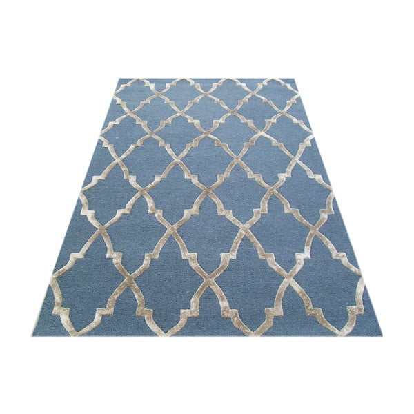 Vlněný koberec Kohinoor Denim, 153x244 cm