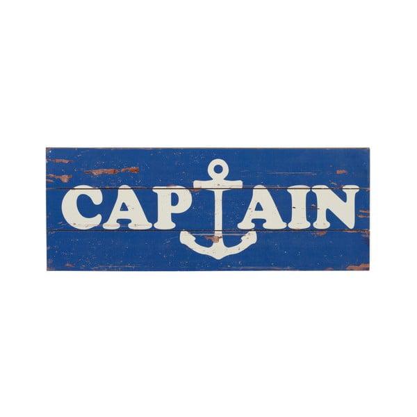 Dřevěná cedule Captain