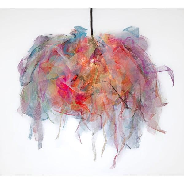 Stropní světlo Ellen Munter vel. M, barevné s černým kabelem