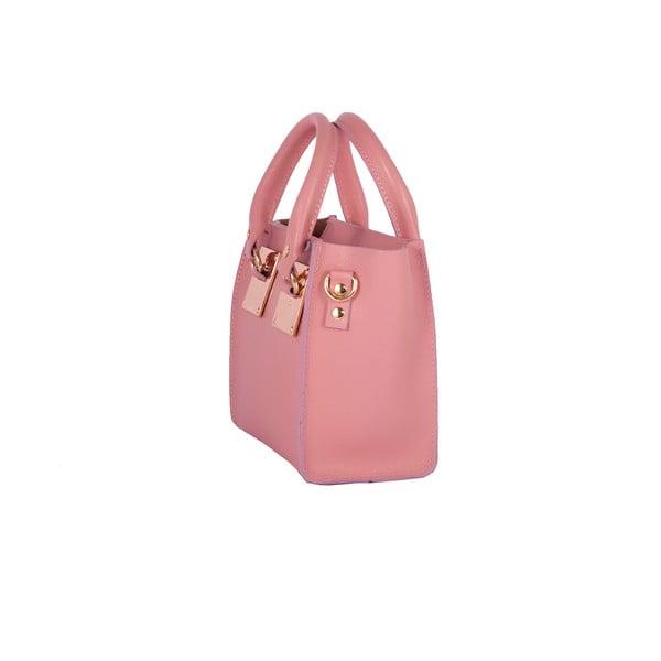 Kožená kabelka Andrea Cardone 2017 Pink