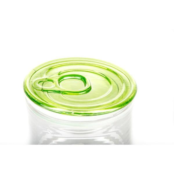 Dóza Kaleidos 10,5x9 cm, zelená