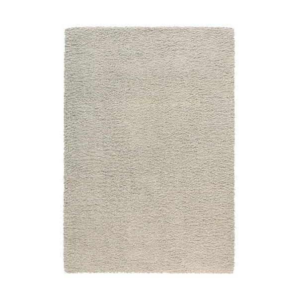 Koberec Super Shaggy 160x230 cm s 5 cm dlouhým vlasem, světle šedý