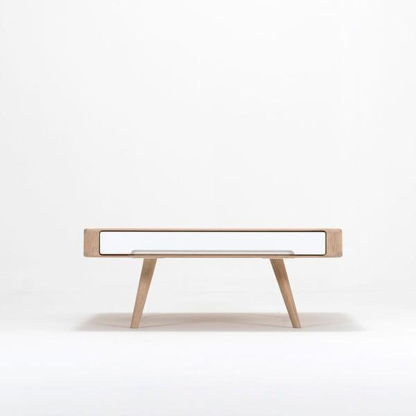 Ena Club tölgyfa dohányzóasztal, 90 x 90 x 35 cm - Gazzda