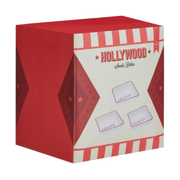 Sada 3 servírovacích misek Premier Housewares Hollywood