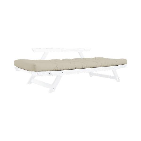 Canapea extensibilă Karup Design Bebop White/Beige
