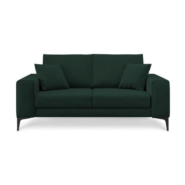 Canapea cu 2 locuri Cosmopolitan Design Lugano, verde