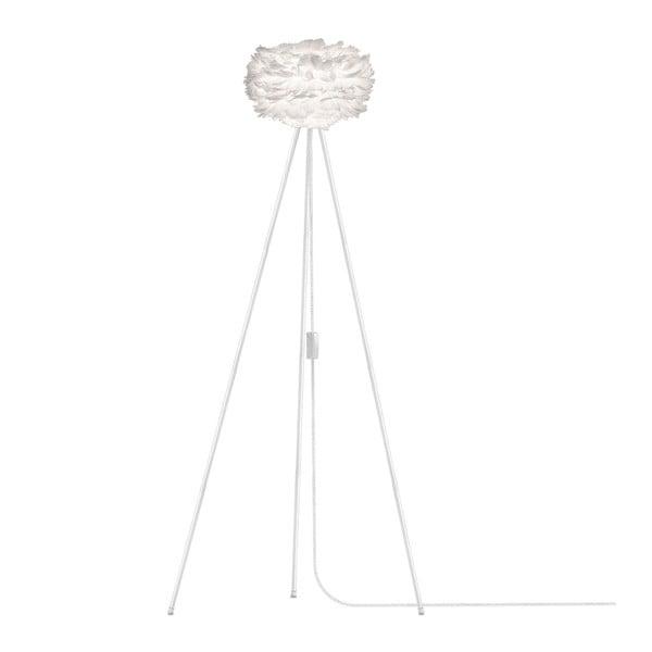 Bílé svítidlo z husího peří VITA Copenhagen EOS, Ø35cm
