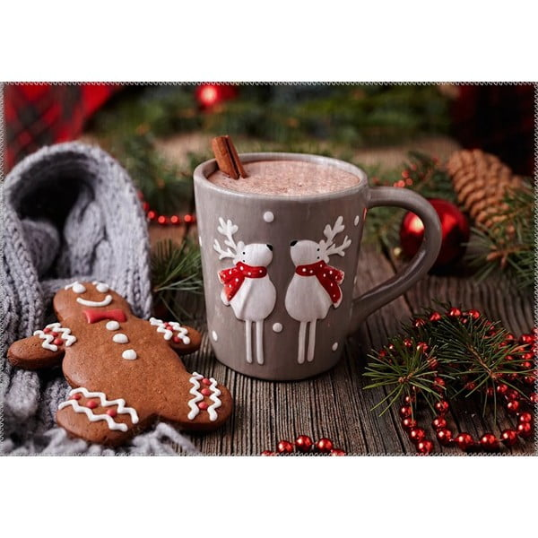 Dywan Vitaus Christmas Period Mug, 50x80 cm