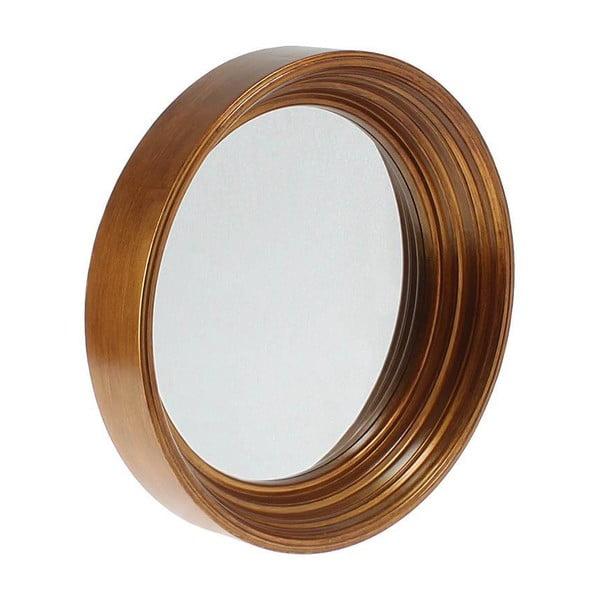 Nástěnné zrcadlo In Dark Gold, 41 cm