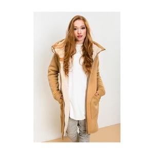 Světle hnědá bunda Lull Loungewear Attitude, vel. S