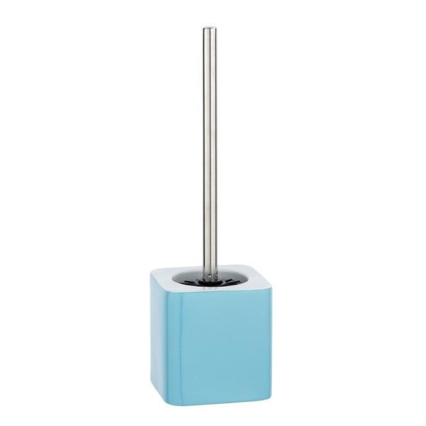 Modrý keramický toaletní kartáč Wenko Elmo