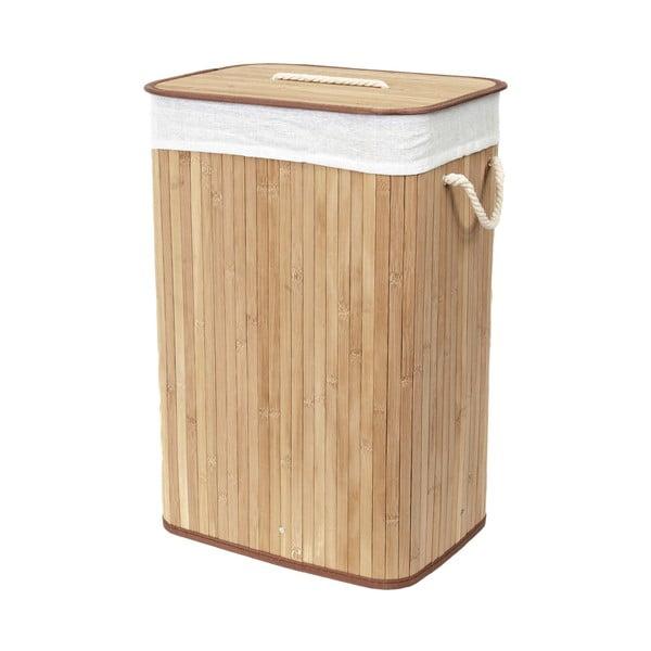 Coș din bambus pentru rufe Compactor Rectangular