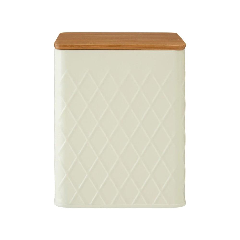 Malá krémová dóza s bambusovým víčkem Premier Housewares Rhombus